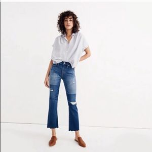 Madewell | Cali Demi-Boot Distressed/ Patchy Look
